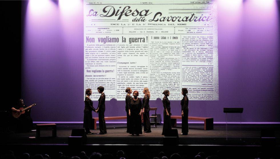 Il fronte delle donne | Lucilla Galeazzi e Maria Rosaria Omaggio al Teatro Vascello