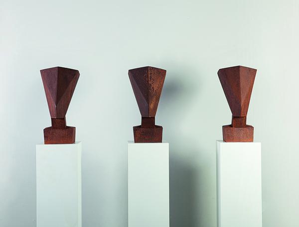 \\\'skulptur\\\' personale dello scultore tedesco Jürgen Knubben