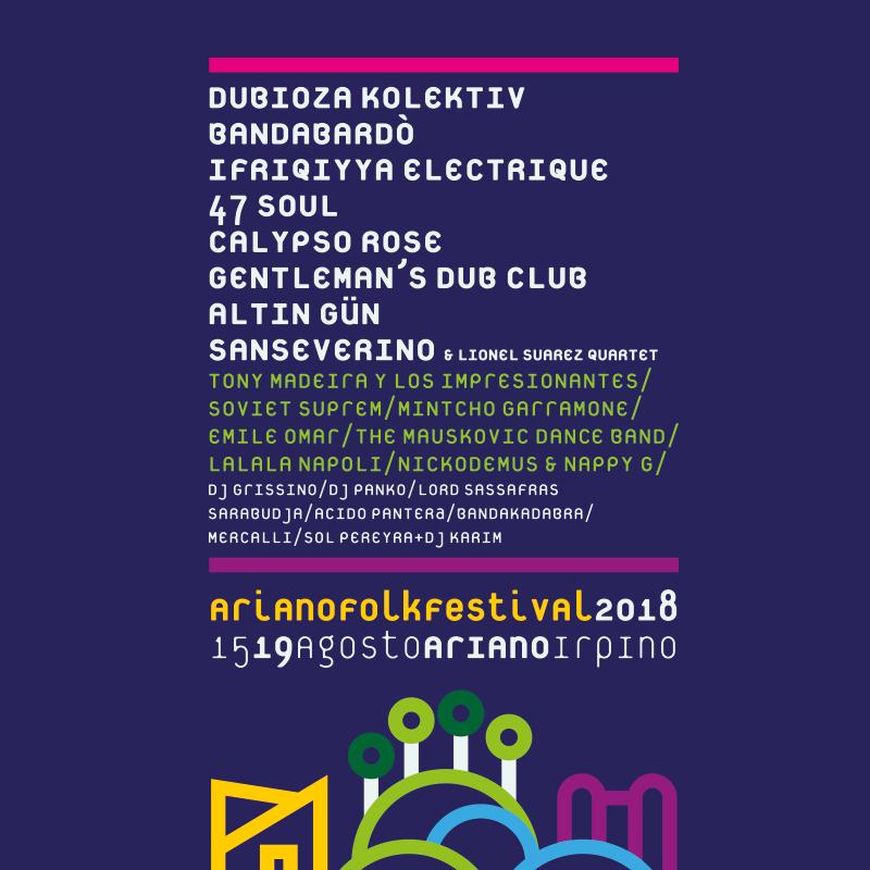 Ariano Folkfestival 2018