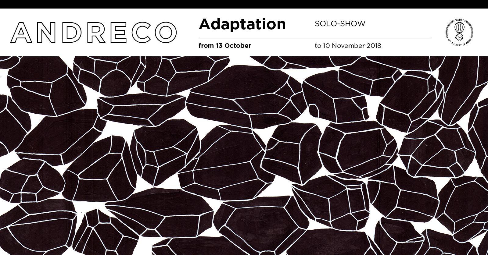 Adaptation | Andreco solo show alla Galleria Varsi