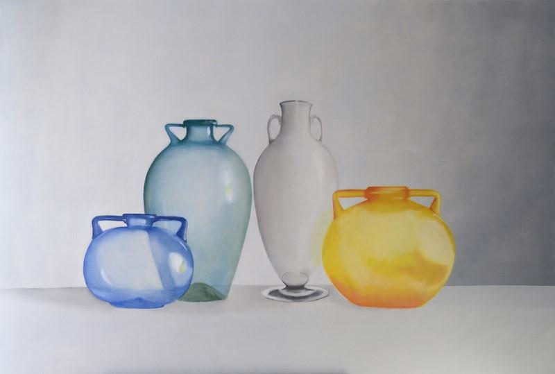 Forme d'aria di Vilder Rosi alla Galleria 8,75 Artecontemporanea