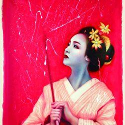 Ayumi Sasaki, Le parole I, 2018