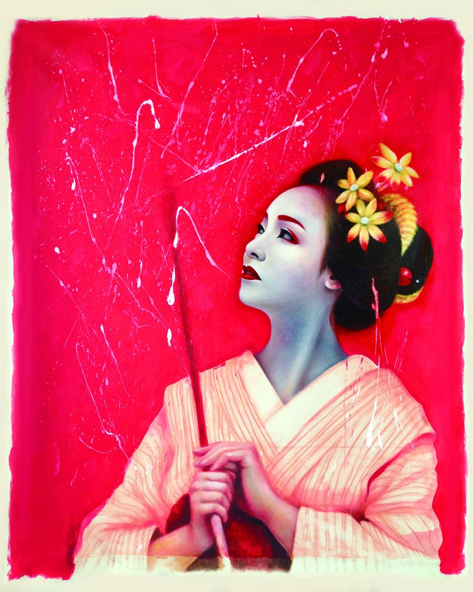 Kabuki Girls | Mostra personale di Ayumi Sasaki alla Galleria 8,75 Artecontemporanea