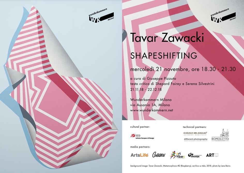 SHAPESHIFTING | Mostra personale di Tavar Zawacki