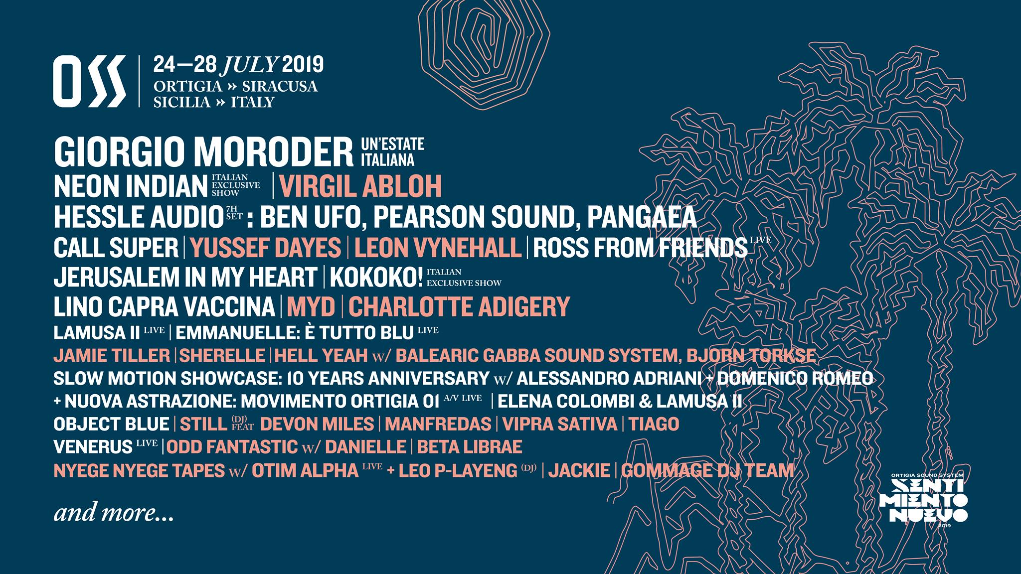 Ortigia Sound System Festival 2019 — #Oss19