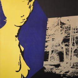 0-CARLO GAJANI-IMMAGINE GUIDA-SENZA TITOLO-1969-Acrilico su tela - 280x180cm